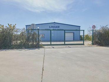 NOVOSTAVBA, Oceľová hala s predajňou v oplotenom areáli 1278 m2, Trnava, Strojárenská ulica
