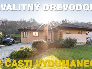 Na predaj nízkoenergetický drevodom Vydumanec, Prešov