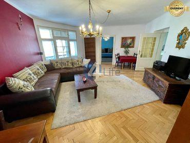 Štýlové bývanie, centrum mesta ako na dlani - priestranný 3-izbový byt