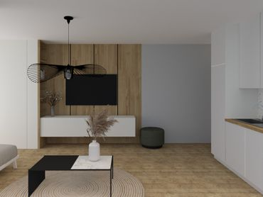 NOVOSTAVBA: 1 izb. byt (84,40m2) v  ALBELLI, terasa a predzáhradka, centrum Košíc