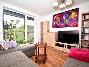 BA-Ružinov - Nivy, 2i byt, 79 m2 – novostavba, priestranná loggia, pivnica, zariadený