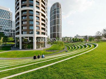 SVOBODA & WILLIAMS I Moderný 2-izbový byt s loggiou s unikátnym výhľadom v Sky Park-u, Bratislava