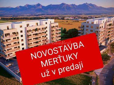 Novostavba 2-izbový byt Poprad-Nový Juh Bytový dom Merťuky