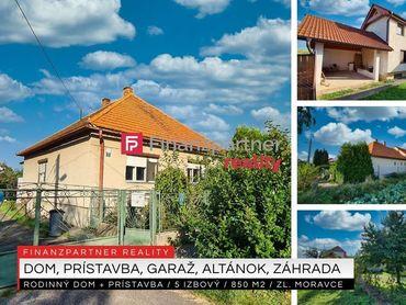 Rodinný 5i dom 180 m2, pozemok - 850 m2, Zlaté Moravce + 3D