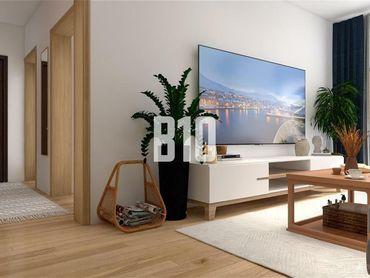 Priestranný 2.i. byt 60m2 v Bratislavských Krásňanoch s vlastnou murovanou pivnicou a loggiou