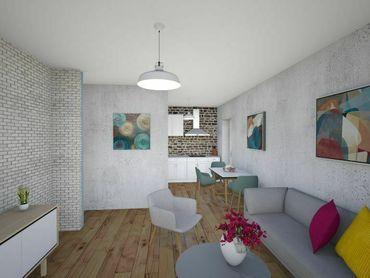 2 izb. byty v projekte SEVERKY Pezinok