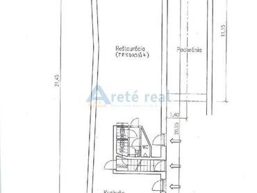 Areté real, Prenájom 100 m2 obchodného priestoru v dobrej lokalite v centre mesta Modra