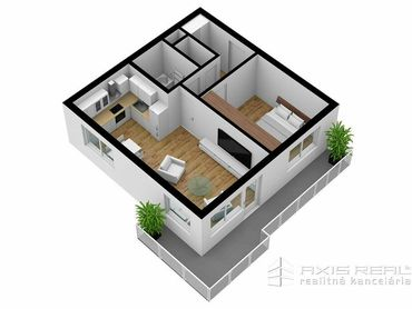 AXIS REAL:: 2-izbový byt (M3A) NOVOSTAVBA, Poprad, Suchoňova ulica