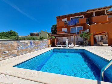 SLOVAK INVEST - Na predaj Vila dom s bazénom, Chorvátsko Medulin, oblasť Pomer