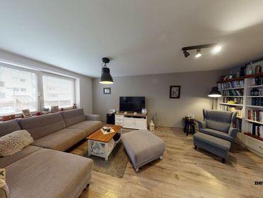 NA PREDAJ 3 izbový byt s garážou a 2 parkovacími státiami po kompletnej rekonštrukcií