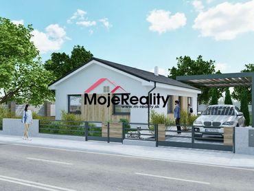 Exkluzívna moderná NOVOSTAVBA rodinného domu v novej štvrti Trenčianske Mitice
