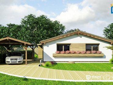 Na predaj 3-izbová ekologická montovaná novostavba domu LUXURY