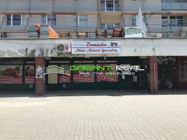 GARANT REAL - prenájom obchodný priestor, kancelária 120 m2, Prešov, Exnárova