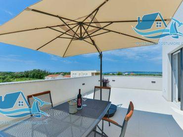 Luxusní moderní vila na prodej v Privlace nedaleko Zadaru.