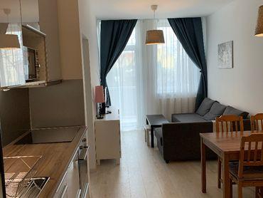 Prenajmem 2-izbový byt so záhradkou BA -DnV, 600 €