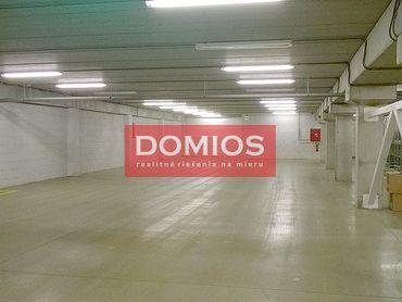 Prenájom výrob. priestorov (1.297 m2, 3. NP, nakl. rampa, parking)
