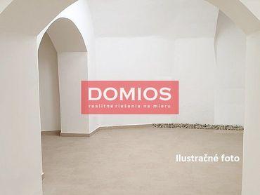 Prenájom polyf. priestorov (220 m2, suterén, sam. vstup, WC, parking)