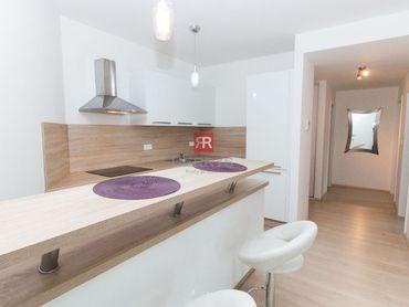 Prenájom - 3 izbový byt priamo v centre Starého Mesta v novostavbe Modrá Guľa