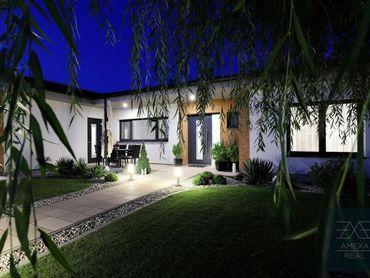AMEXA REAL » Luxusný rodinný dom s bazénom v Senci