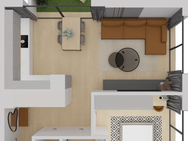 NOVOSTAVBA - 2 izb. holobytbyt, 3p., 12m loggia, pivnica, vonkajšie parkovacie miesto, KVP