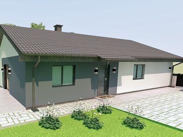 Novostavba rodinného domu - Klobušice Záhumie