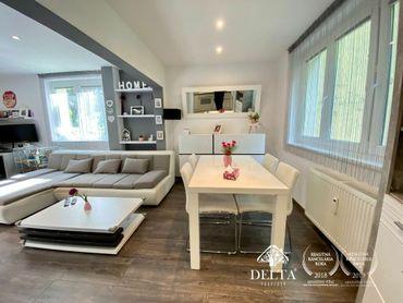 DELTA 3 izb. byt so záhradkou a balkónom, Centrum - Okružná