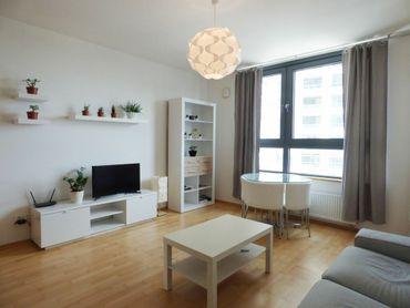 PRENÁJOM - pekný zariadený 1,5i byt v novostavbe City Park, Ružinov