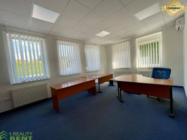 Prenájom kancelárske priestory 263 m2 s parkovaním v centre Žiliny