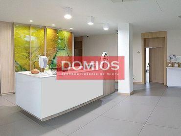 Prenájom klim. medic. priestorov (28 m2, 2 miestn., recepcia, príz., WC, parking)