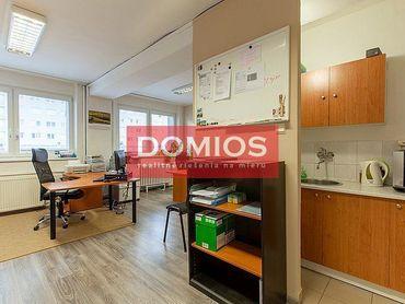 Prenájom kancelárie (18,51 m2, 1k, 9. p., 9.15/5, WC, parking)