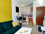 Presvetlený 2 izbový byt 46m2, s GARÁŽOU, v novostavbe na Muškáte (Silvanium) - otočený do parku