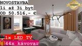 NOVOSTAVBA: 3i byt, 48,86 m2 + záhrada 62 m2 + PARKING ZDARMA, Detva
