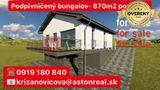 PREDAJ: Podpivničený bungalov na skok od Púchova na pozemku 869m2