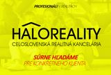 HALO reality - Kúpa chalupa Prešov