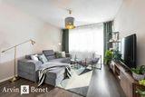 Arvin & Benet | Štýlovo zariadený 2i byt v novostavbe s parkingom