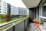 1-izbový byt na prenájom v novostavbe s balkónom na Hraničnej ulici, Ružinov