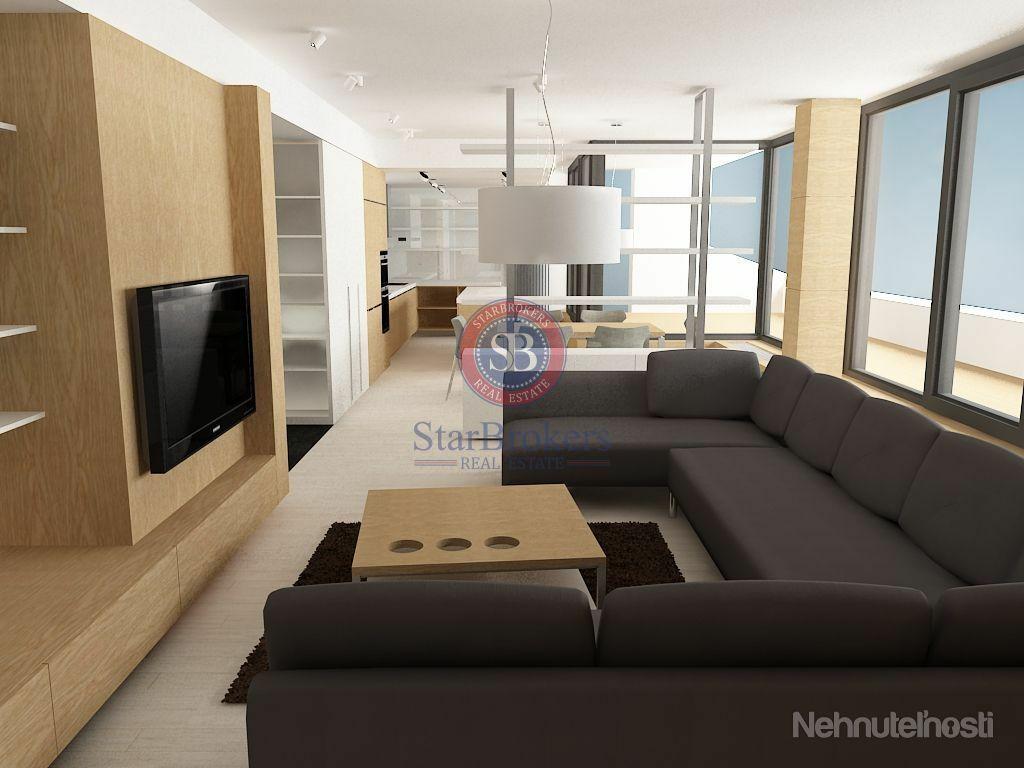 StarBrokers - Prenájom - Luxusne zariadený 3-izbový byt v River Parku / Vermietung - Luxurios einger