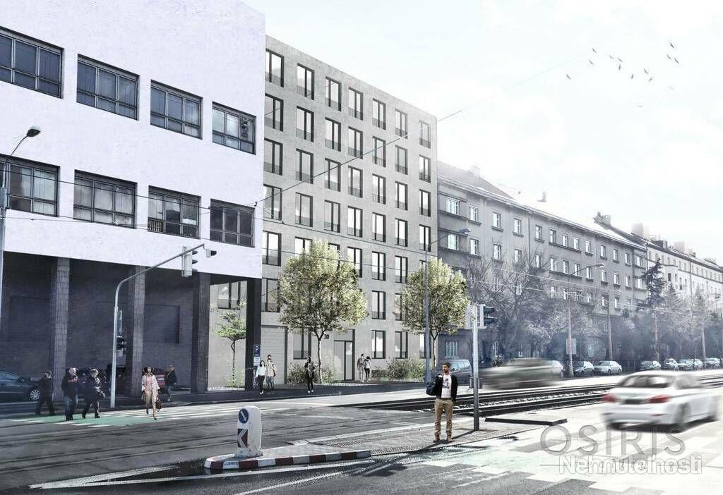 Klimatizovaný, zariadený 2i byt s balkónom 11 m2, novostavba 2017