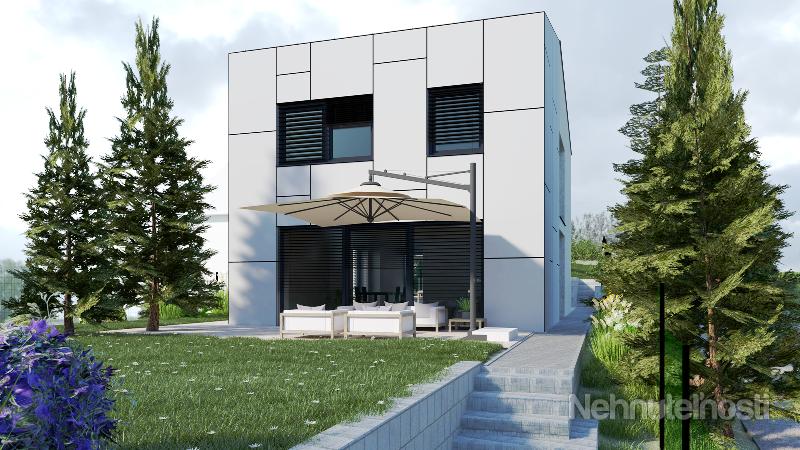 Moderný a inteligentný rodinný dom s výhľadom do zelene Stupavského parku