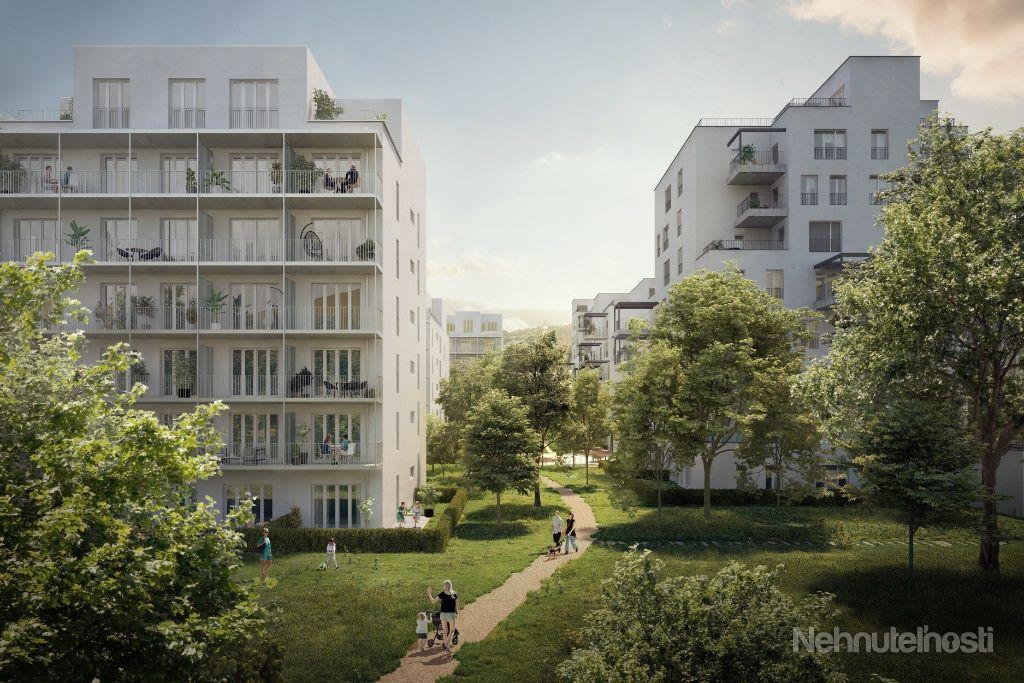 Byt 1+kk s balkónom - NOVOSTAVBA (D4.12)