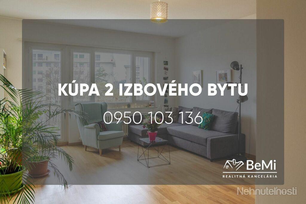 Kúpa 2 izbového bytu - Vráble