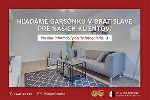 Garsónka Bratislava IV - Dúbravka kúpa