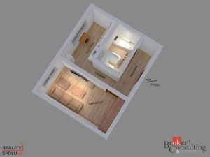 1-izbový byt s výhľadom v Dubravke