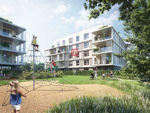 HERRYS - Na predaj 3 izbový apartmán s terasou a zelenou terasou a predzáhradkou v projekte Nový Ruž