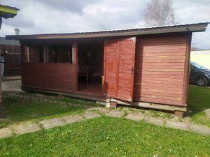 SIMI real- drevená chatka s terasou