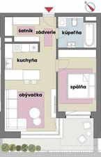 2 izbový byt Miloslavov predaj