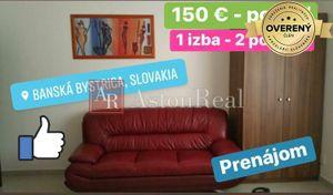 3 izbový byt Banská Bystrica podnájom