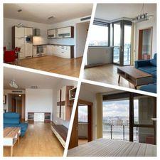 EXKLUZÍVNE na prenájom 2 izbový kompletne zariadený byt s parkovaním, Vienna Gate-Petržalka
