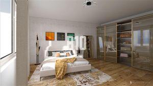 Ružinov- veľký 2 izb. byt so šatníkom a 8m2 loggiou