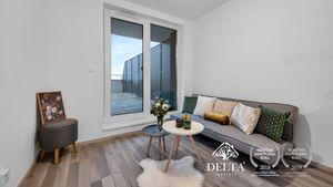DELTA   2i byt s nadštandardnou terasou 40m2 - Matadorka